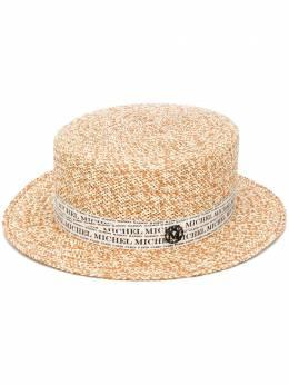 Maison Michel шляпа с логотипом 1116001001