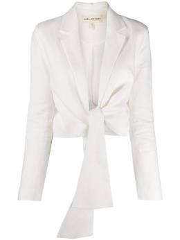 Mara Hoffman tie fastened blazer W002214900