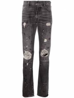 Unravel Project джинсы с эффектом потертости UMYA003S20DEN0041000