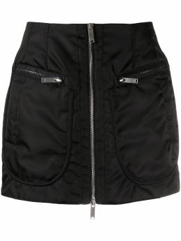 Marcelo Burlon County Of Milan юбка мини на молнии CWCC048S20FAB0011020