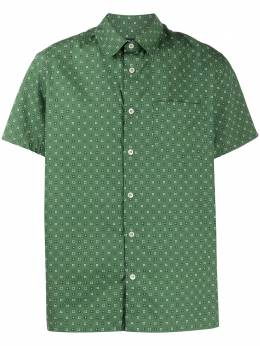 A.P.C. рубашка с геометричным принтом COECNH12335