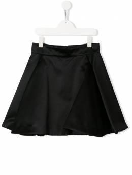 Balmain Kids юбка мини А-силуэта 6M7010MB460