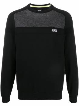 Boss by Hugo Boss panelled sweatshirt 50424124