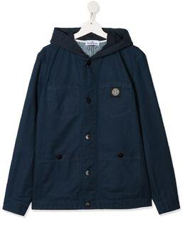 Stone Island Junior куртка с капюшоном MO721641110