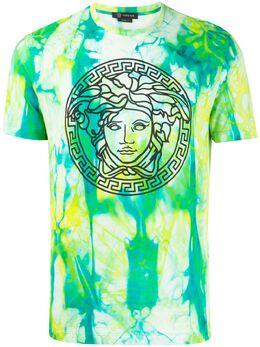 Versace футболка Medusa с принтом тай-дай A86783A234717
