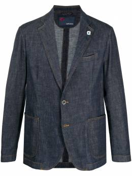 Lardini single-breasted fitted blazer EI54254