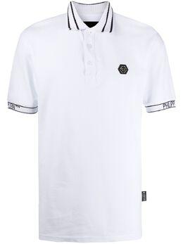 Philipp Plein рубашка-поло с логотипом P20CMTK4497PJY002N