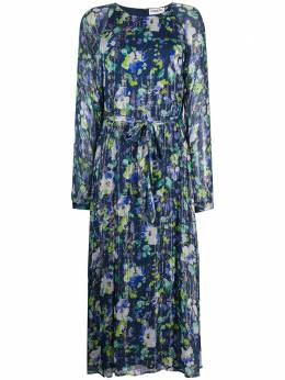 Essentiel Antwerp floral-print belted dress VERFECT