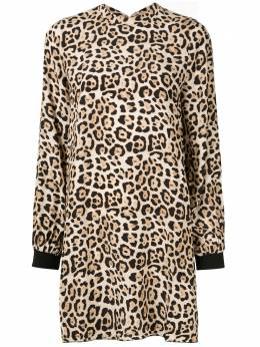 Atm Anthony Thomas Melillo платье мини с леопардовым принтом AW7135BD9