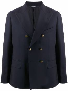 Tagliatore fitted double-breasted blazer 1SMC22K12WEZ309