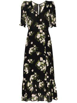 Reformation платье миди Celeste с цветочным принтом 1306020CLT