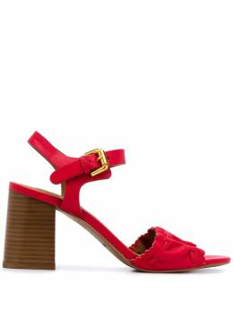 See By Chloe SEE BY CHLOÉ SVIZZERA CHERRY Leather