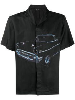 No. 21 photo print shirt 20EN1M0G0312211