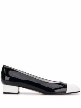 Carel туфли-лодочки с контрастным носком JAVA