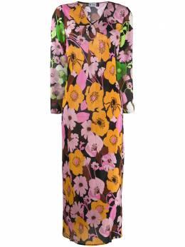 Rixo платье макси с цветочным принтом RIX10487220789ABSTRACT60SFL