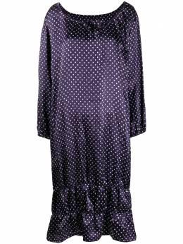 Comme Des Garcons Girl ярусное платье в горох O010051