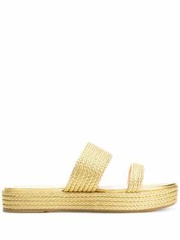 Charlotte Olympia сандалии плетеного дизайна E005644