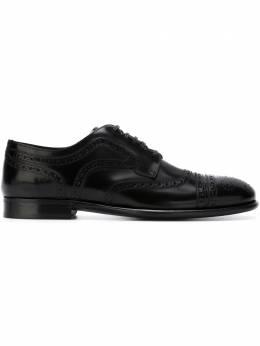 Dolce&Gabbana классические туфли-броги A10002AC460