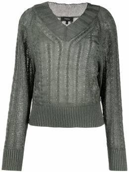 Theory textured pullover K0413701