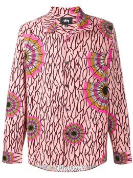 Stussy рубашка с принтом 1110087