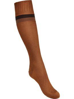 Fendi жаккардовые носки Pequin в полоску FXZ556ACUW