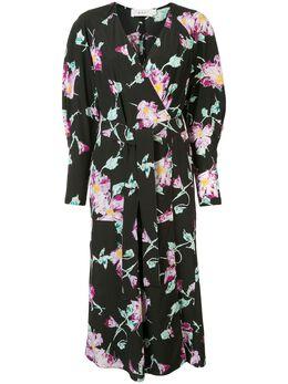 A.L.C. платье Quinn с запахом и цветочным принтом 6DRES00926