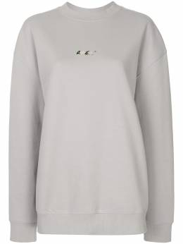 Ader Error oversized logo print sweatshirt 20ASSTO35GR