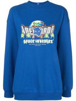 Ader Error Rangers oversized sweatshirt 20ASSTO33BL