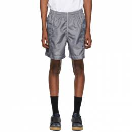 Nanamica Grey Deck Shorts SUDS040_