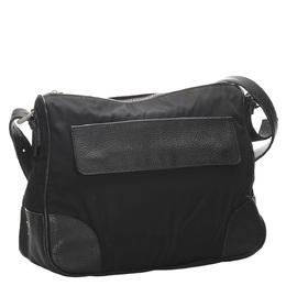 Prada Black Nylon Crossbody Bag 281657