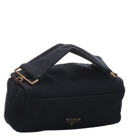 Prada Black Cotton Bag