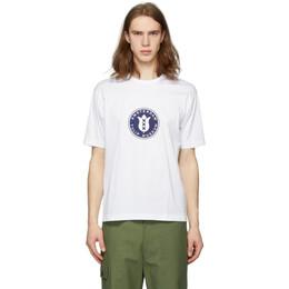 Junya Watanabe White Tulip Museum T-Shirt WE-T002-051