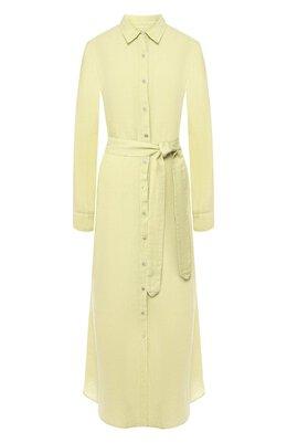 Льняное платье 120% Lino R1W40HE/0115/000