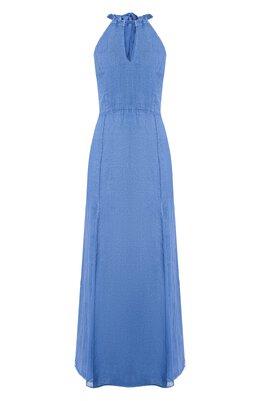 Платье-макси 120% Lino R0W4641/D842/S00