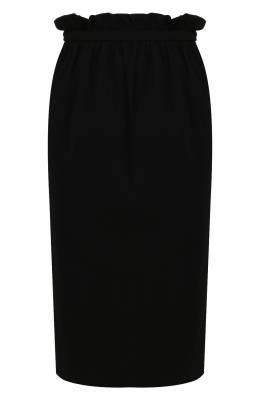 Юбка из смеси вискозы и шелка Versace A86297/A222813