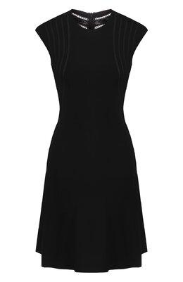 Платье из вискозы Alaia AE9RN82CM552