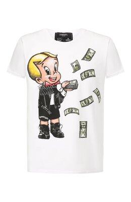 Хлопковая футболка Dom Rebel BALLER/T-SHIRT
