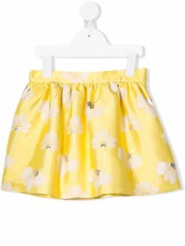 Hucklebones London присборенная юбка с цветочным узором SS20504