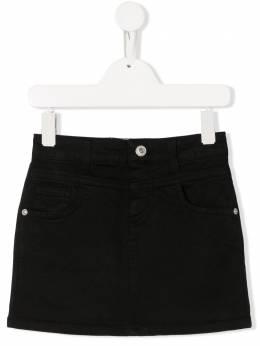 Alberta Ferretti Kids джинсовая юбка мини 022156