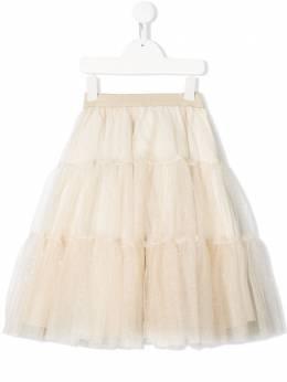 Lapin House многослойная юбка с тюлем 201E3387