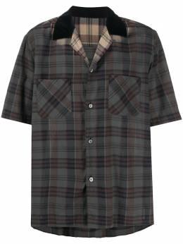 Sacai клетчатая рубашка 2002279M