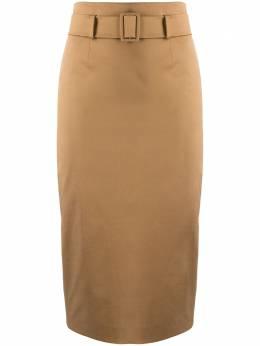 Alberto Biani юбка-карандаш с завышенной талией и поясом AA835CU0005