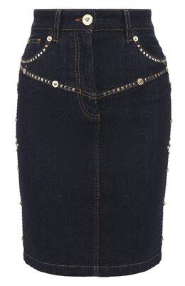 Джинсовая юбка Versace A85667/A232843