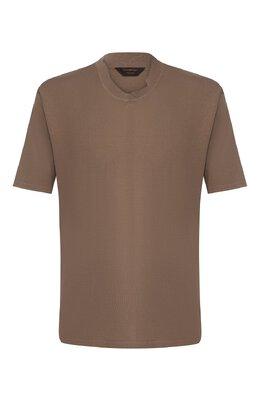 Хлопковая футболка Zegna Couture CUZ90/C02