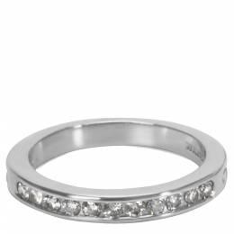 Tiffany & Co. 0.22 CTW Diamond Platinum Wedding Band Ring Size 48 284570
