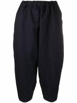 Comme Des Garcons Comme Des Garcons укороченные брюки узкого кроя REP009051