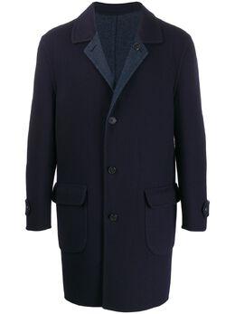 Corneliani однобортное пальто 8412W09820178001