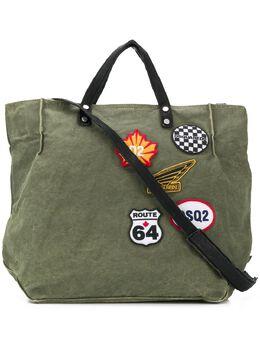 Dsquared2 сумка-тоут с нашивками SPM002188600001