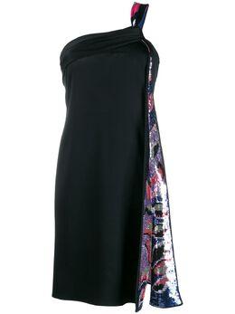Emilio Pucci платье с вышивкой пайетками 0EJH200E632