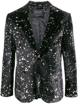 John Varvatos бархатный пиджак из коллаборации с Led Zeppelin JVSO1876V4BRDB